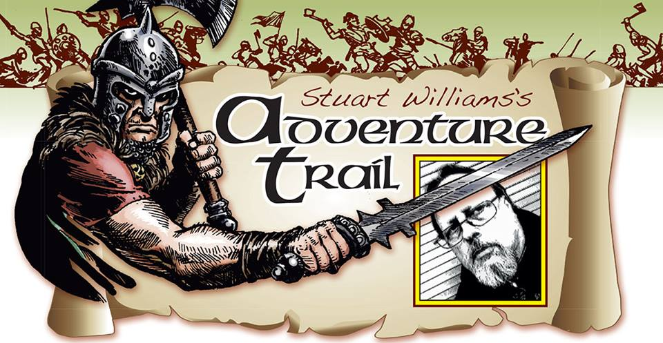 Adventure Trail banner, courtesy Crash Annual 2018