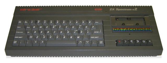 Amstrad ZX Spectrum +2 grey (Stuart Brady - Wikipedia)