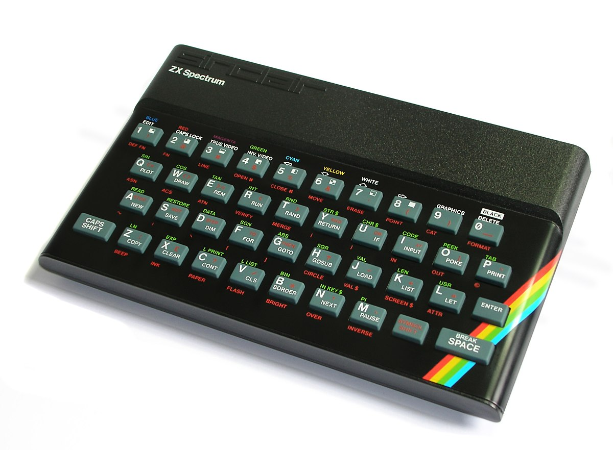 An issue 2 1982 ZX Spectrum 48K (Bill Bertam - Wikipedia)