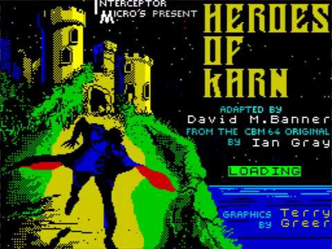 Heroes of Karn loading screen (Interceptor Software)